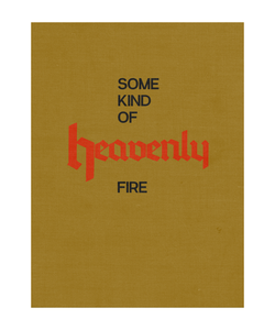 Copy of Some Kind of Heavenly Fire (Mustard Cover) - signed