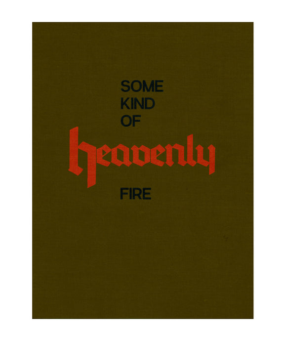 Some Kind of Heavenly Fire (Dark Green Cover) - signed