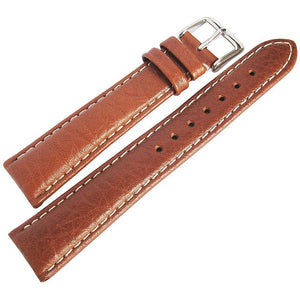 DeBeer Sport Leather Havana-Holben's Fine Watch Bands