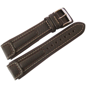 Di-Modell Chronissimo Leather Watch Strap Long Brown-Holben's Fine Watch Bands