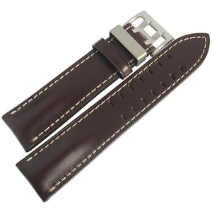 Di-Modell Offroad Brown Leather Watch Strap-Holben's Fine Watch Bands