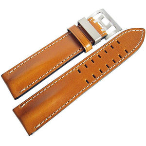 Di-Modell Offroad Tan Leather Watch Strap-Holben's Fine Watch Bands