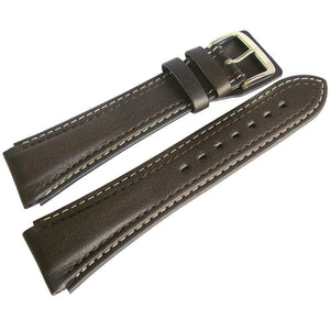 Di-Modell Pilot Leather Watch Strap Brown-Holben's Fine Watch Bands