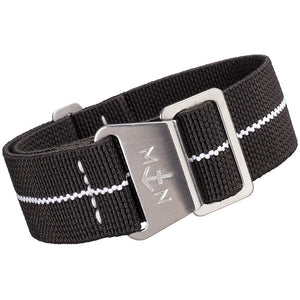 Erika's Originals MN Watch Strap Black Ops White-Holben's Fine Watch Bands