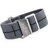 Erika's Originals MN Watch Strap Mirage Gray Black-Holben's Fine Watch Bands