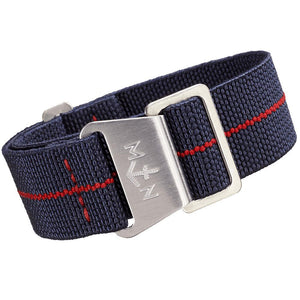 Erika's Originals MN Watch Strap Trident Red-Holben's Fine Watch Bands
