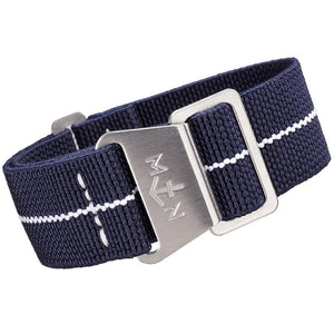 Erika's Originals MN Watch Strap Trident White-Holben's Fine Watch Bands