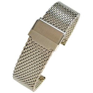 Eulit Stalux Mesh Stainless Steel-Holben's Fine Watch Bands