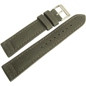 Hadley-Roma MS 850 Cordura Watch Strap Grey-Holben's Fine Watch Bands