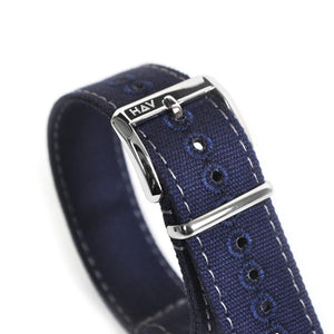 Haveston Canvas Series Flight Deck Watch Strap - Holben's Fine Watch Bands