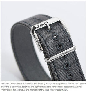 Haveston Canvas Series Forecastle Watch Strap - Holben's Fine Watch Bands