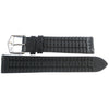 Hirsch George Alligator Black Leather Watch Strap-Holben's Fine Watch Bands