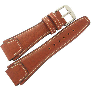 RIOS1931 Nature Buffalo Leather Watch Strap Cognac-Holben's Fine Watch Bands