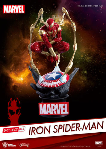 Iron Spider Man Diorama