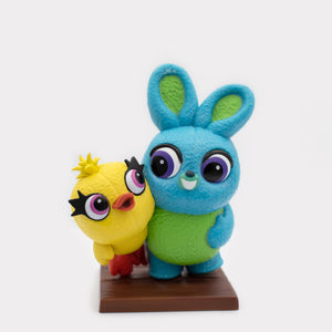 Toy Story 4 - Ducky & Bunny