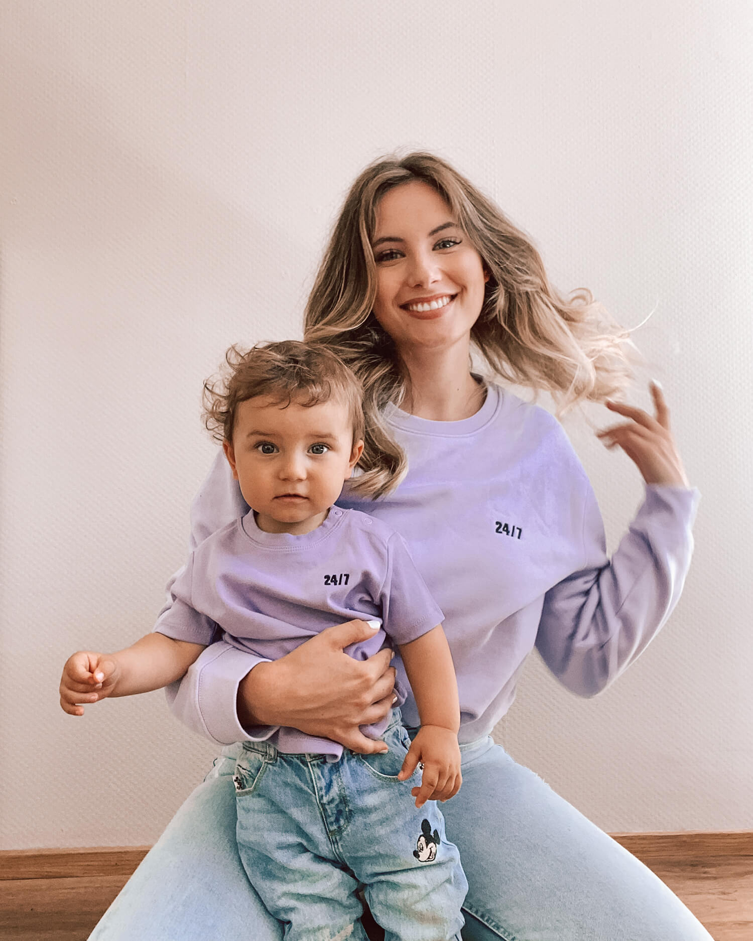 24/7 Baby T-Shirt (lavender)