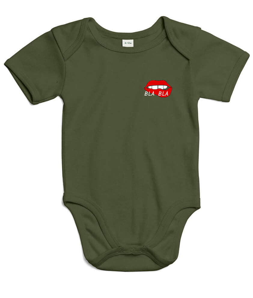 Bla Bla Baby Body (moss green)