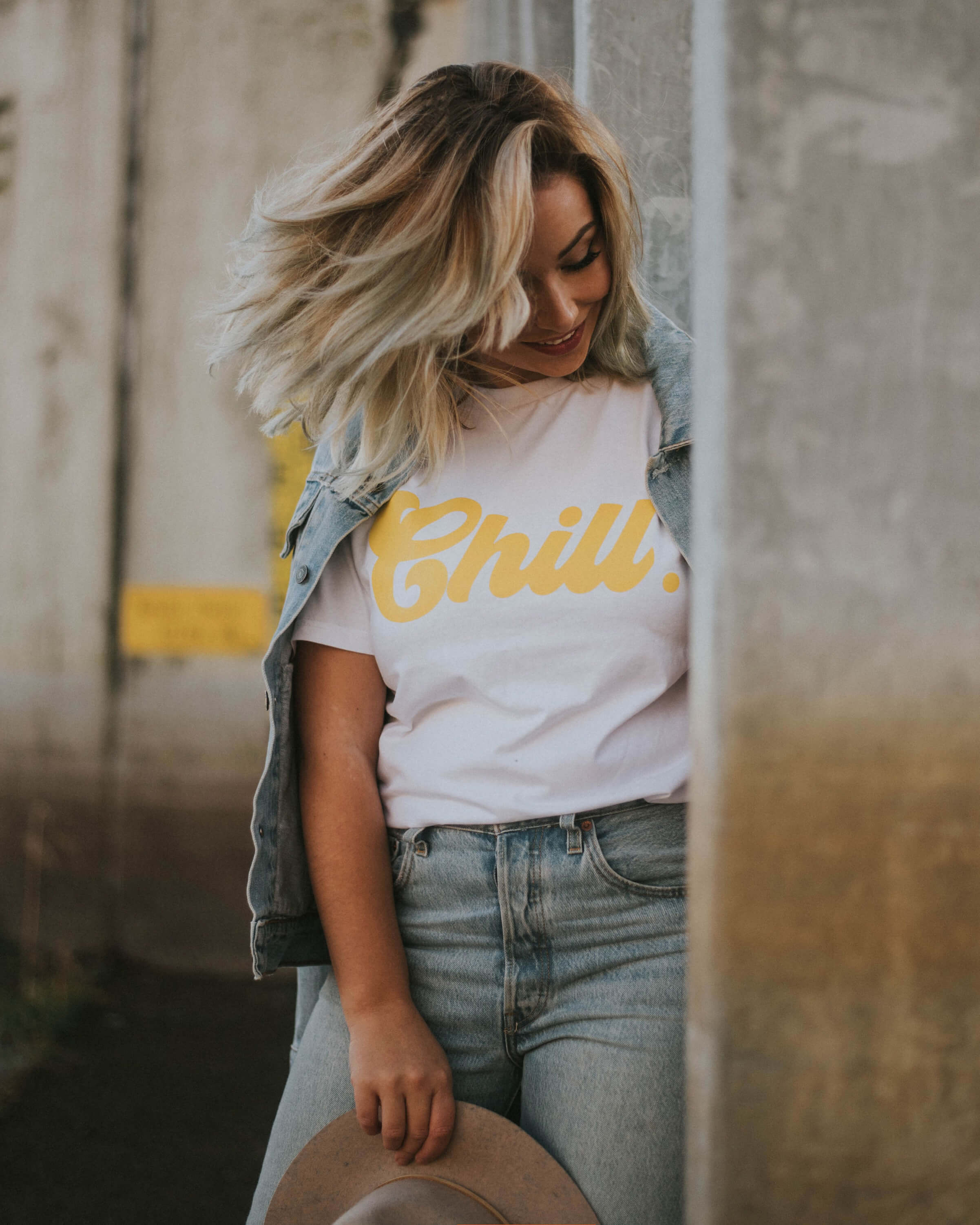 Chill T-Shirt (gelb)