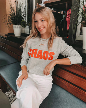 She's Chaos Sweater