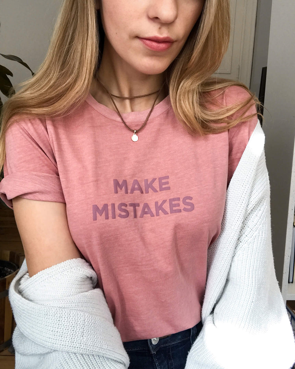 Make Mistakes T-Shirt (Foam Print)