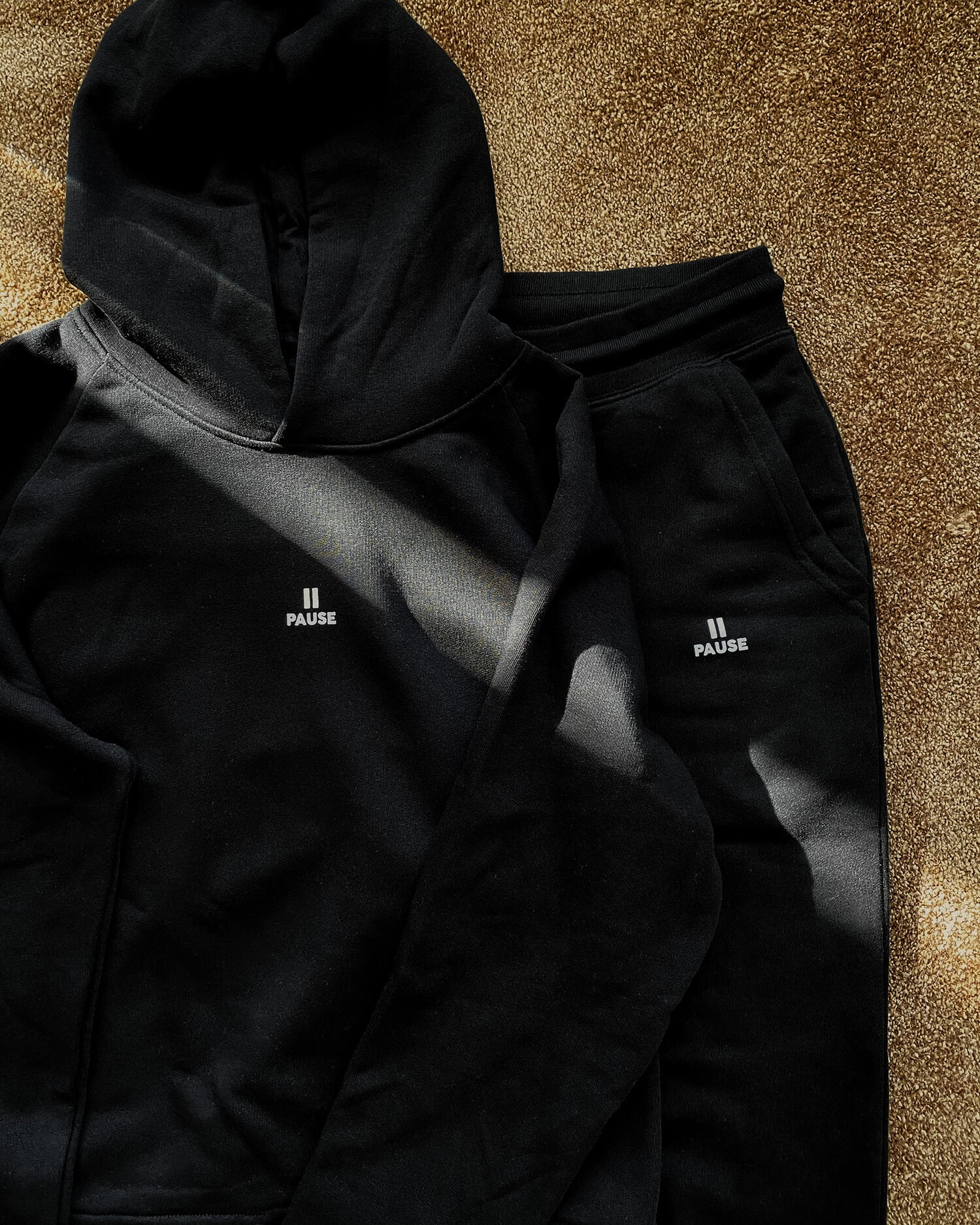Pause Sweatpants (black) - New Comfort Total Look