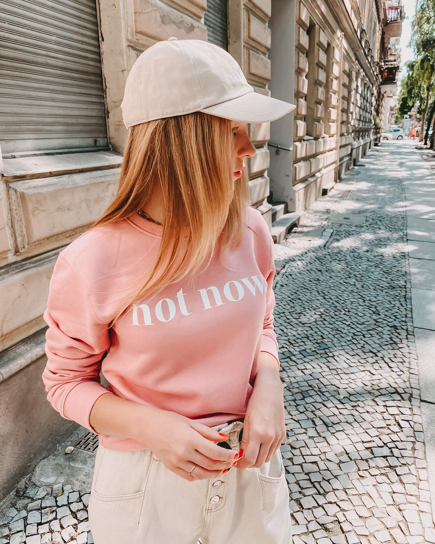 Not Now Sweater (canyon pink)