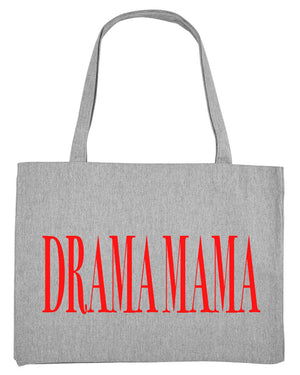Drama Mama Shopper (heather grey)