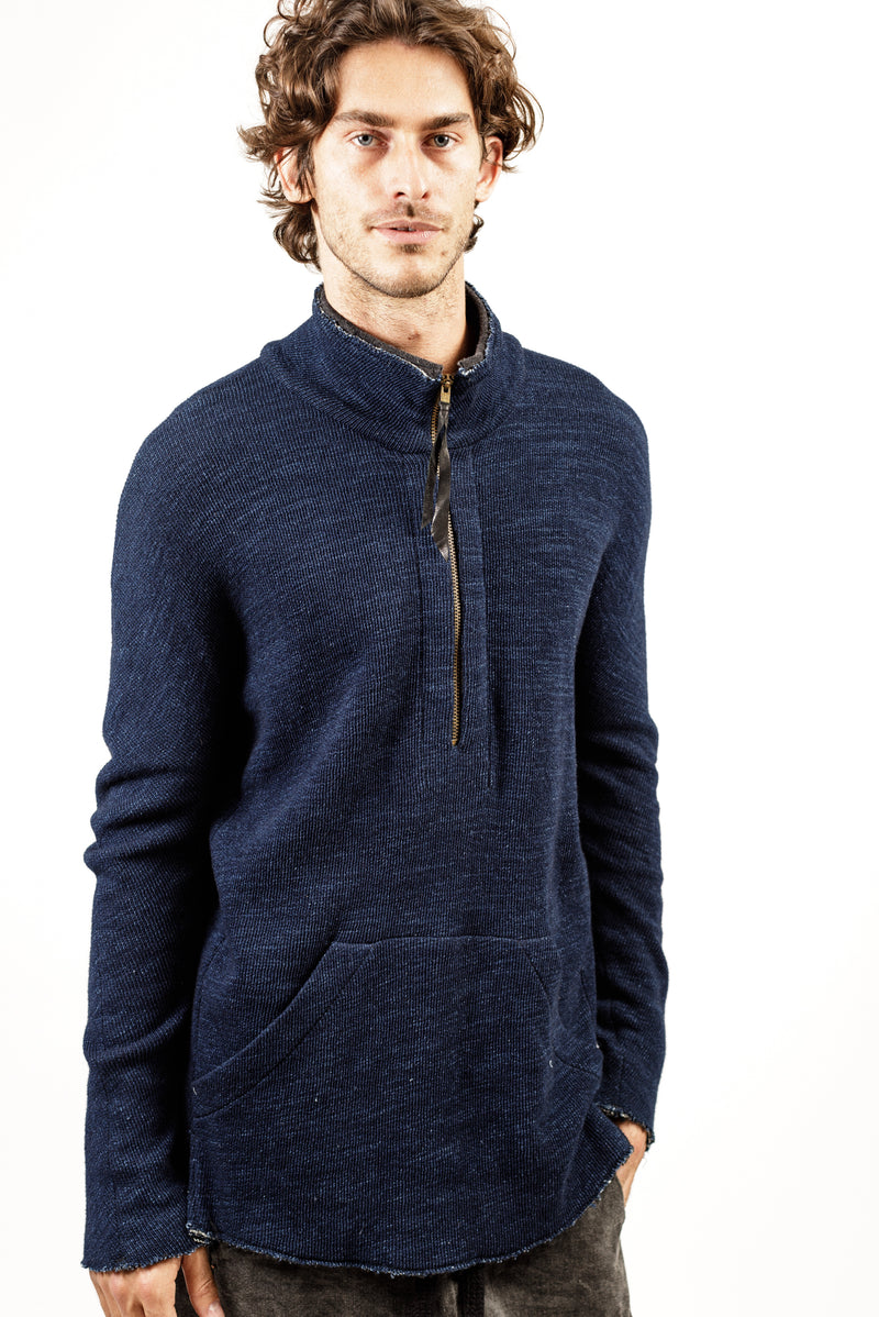 Teddy Half Zip Aspa