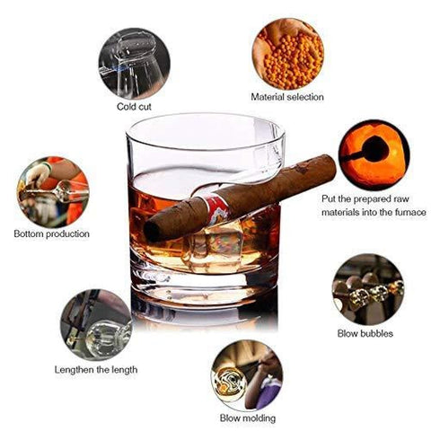 Cigar Holder Glass