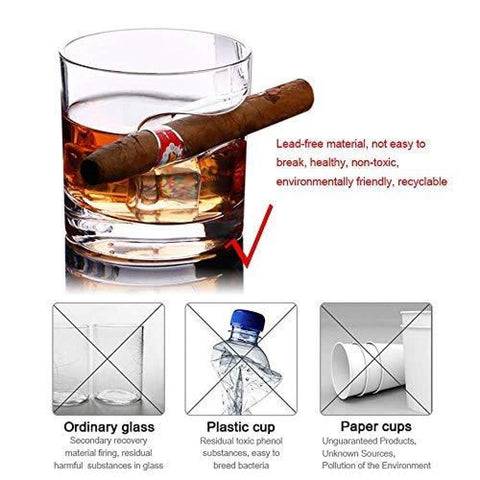 Image of Cigar Holder Glass