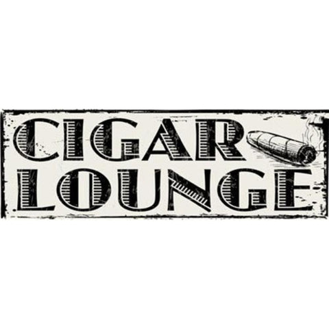 Cigar Lounge Sign