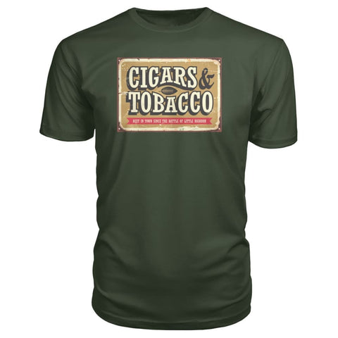 Image of Cigars and Tobacco - City Green / S - Short Sleeves