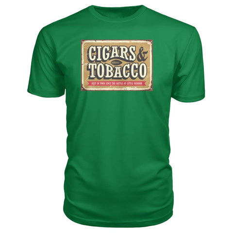 Image of Cigars and Tobacco - Kelly Green / S - Short Sleeves