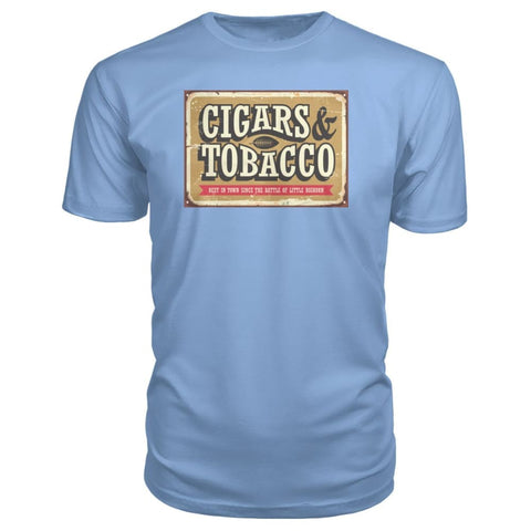 Image of Cigars and Tobacco - Light Blue / S - Short Sleeves