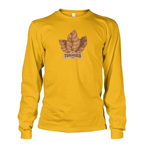 Fine Tobacco Long Sleeve - Gold / S - Long Sleeves