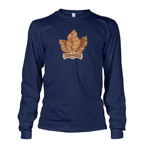 Fine Tobacco Long Sleeve - Navy / S - Long Sleeves