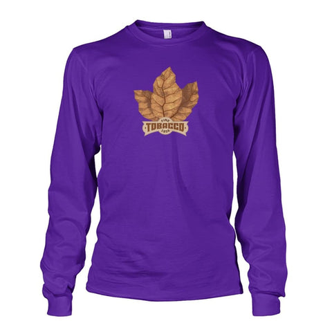 Image of Fine Tobacco Long Sleeve - Purple / S - Long Sleeves