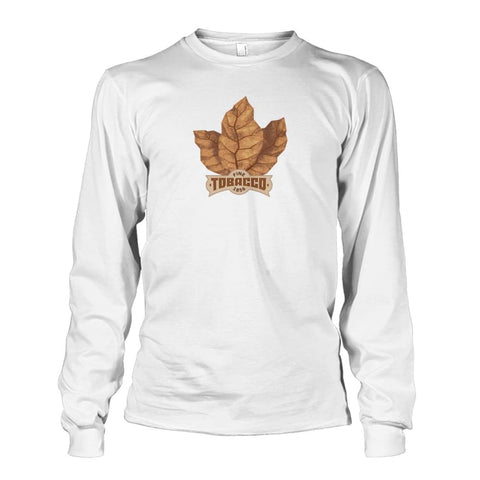 Fine Tobacco Long Sleeve - White / S - Long Sleeves