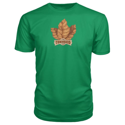 Image of Fine Tobacco Premium Tee - Green Apple / S - Short Sleeves