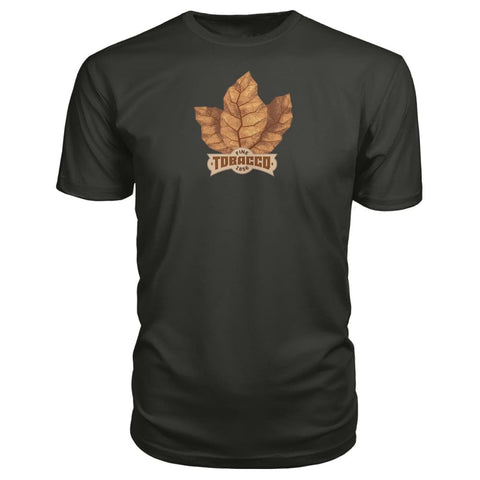 Image of Fine Tobacco Premium Tee - Smoke / S - Short Sleeves