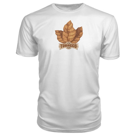 Image of Fine Tobacco Premium Tee - White / S - Short Sleeves