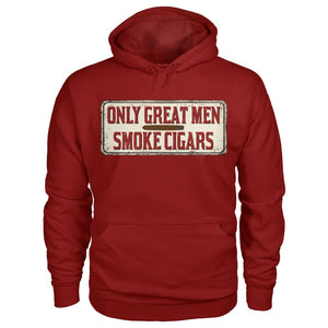 Great Men Hoodie - Cardinal Red / S - Hoodies