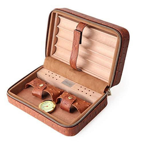 Image of Leather Humidor Case