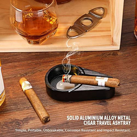 Metal Cigar Ashtray