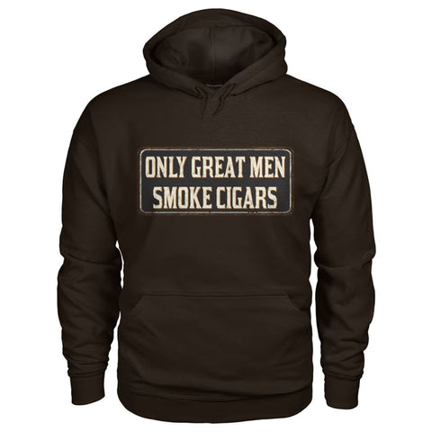 Only Great Men Hoodie - Dark Chocolate / S - Hoodies