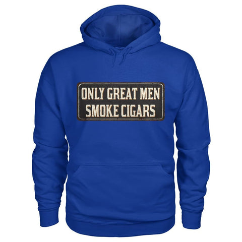 Only Great Men Hoodie - Royal / S - Hoodies