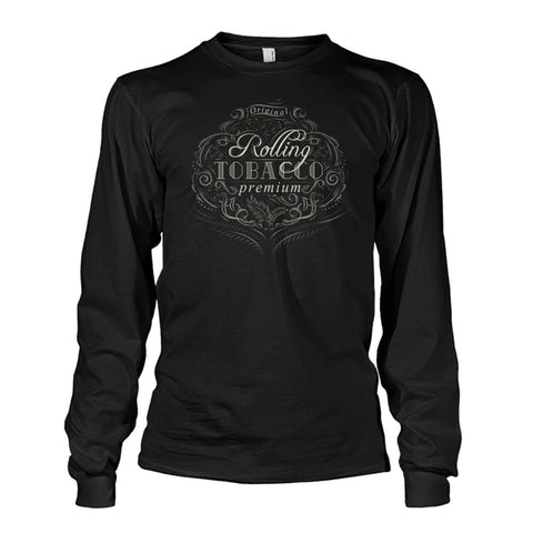 Rolling Tobacco Long Sleeve - Black / S - Long Sleeves