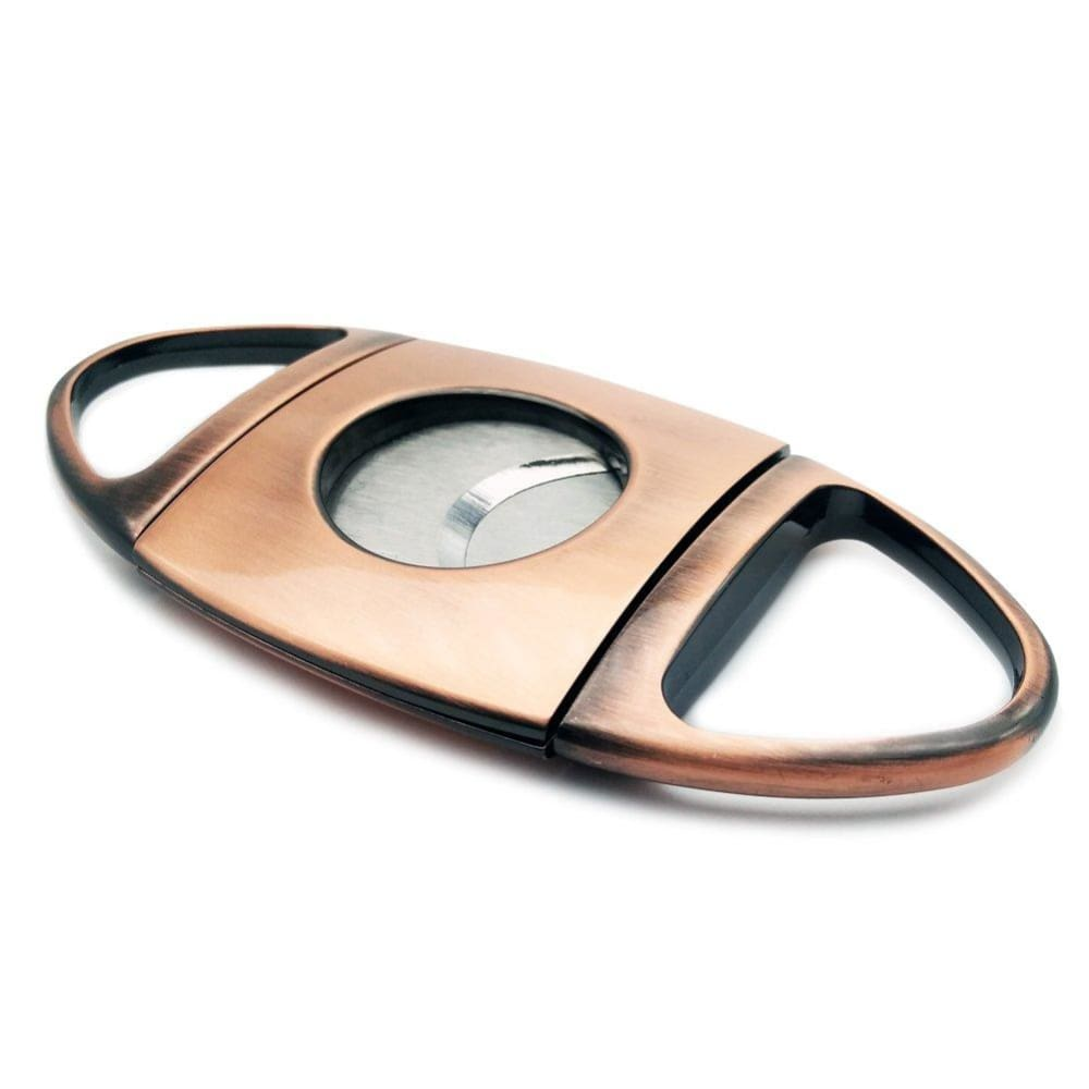 Stainless Steel Cigar Cutter - Coppery