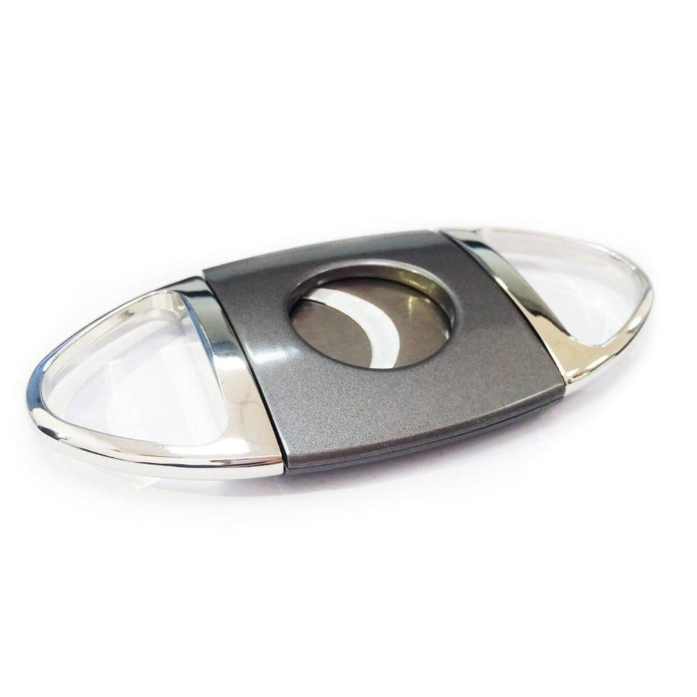 Stainless Steel Cigar Cutter - Silver&gray