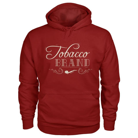 Image of Tobacco Brand Hoodie - Cardinal Red / S - Hoodies